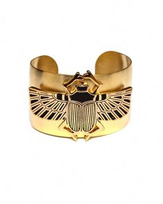 Azalee Cuff, black and gold scarab cuff Gold Arm Cuff, Josie Loves, Jewelry Accessories, Jewelry Design, Cheap Jewelry, Jewelry Shop, Jewelry Ideas, Fashion Accessories, Fine Jewelry