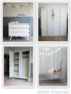 Atelier Charivari by decor8. Bedroom ideas. White. Natural. Kids baby. Children. Child's.