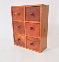 A personal favorite from my Etsy shop https://www.etsy.com/listing/232213543/miniature-chest-of-drawers-jewelry