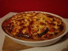 Gourmandises végétariennes: Kürbis-Zucchini-Quiche mit Feta
