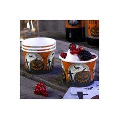 £2.80 Halloween Sweetie Treat Tubs Bats, Pumpkins and Gravestones