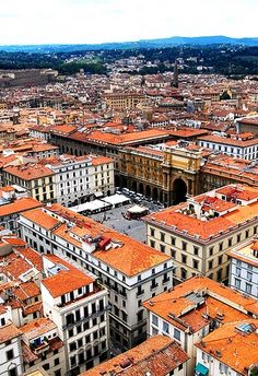 Firenze, Italian for Florence, capital city of the Italian region of Tuscamy.
