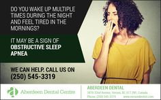 Call us at (250) 545-3319 to schedule a consultation! #DentistVernon #SleepApnea #BreathingDisorder