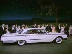 "In 1960 alone, Ford was introducing three new car designs. This commercial showed the fancy and luxurious designs that a ordinary consumer could own, and that it could be argued that it would ""improve your self image."""