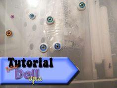 De Cassie Creación Artesanal: Muñeca de ojos Tutorial-vidrio como