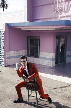 Elvis Inspired - Matt Bomer for GQ Italia