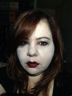 A Halloween look on my birthday?  Yes please!  This is my version of a Goth-Vampire Halloween look.  It's Makeup Monday y'all! Please Subscribe! #makeup #goth #vampire #makeupmonday #elenivtv