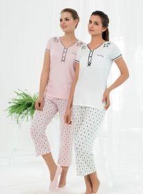Bayan Kapri Takımları #kapri #bayankapri #kapritakımı #pijama #fashion http://www.pijama.com.tr/kapri
