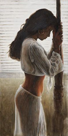 Source: gyclli - http://gyclli.tumblr.com/post/62839082326/by-tony-pavone-american-figurative-painter