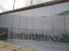 Wall on wall at East Side Gallery
