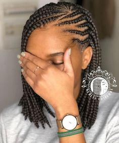 African Braids Hairstyles 638948265871583954 - # Braids africaines carre # Braids africaines carre Source by larosesexy Braided Cornrow Hairstyles, Box Braids Hairstyles For Black Women, Braids Hairstyles Pictures, Protective Hairstyles For Natural Hair, Natural Hair Braids, African Braids Hairstyles, Braids For Black Hair, Trendy Hairstyles, Natural Hair Styles