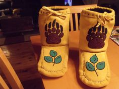 mens moosehide moccassin booties