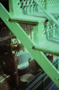 By Saul Leiter, 1952, Tanager Steps.