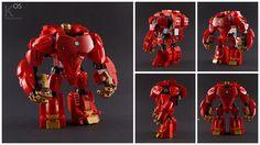 Ironman Hulkbuster (inspired by the Cuusoo Hulkbuster project by Jonsanpedro), by Kosmas Santosa