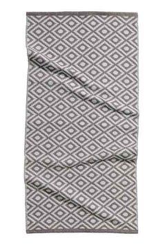 Jacquard-weave rug