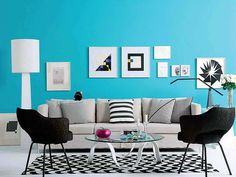 Living Room, Turquoise Living Room Designs Turquoise Walls And Turquoise: Excellent Turquoise Living Room Ideas Teal Rooms, Living Room Turquoise, Teal Living Rooms, Turquoise Walls, Living Room Color Schemes, Living Room Paint, Living Room Colors, Living Room Designs, White Rooms