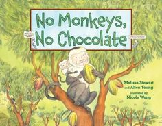 When you think of chocolate, you might think of a candy bar, a birthday cake, or a glass of chocolate milk. But where does chocolate come from? This book tells about the cocoa bean, which grows in the tropical rain forests and how the animals and other living things play an important part, even the monkeys.