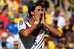 Sami Khedira vs France 4.7.14 World Cup Brazil