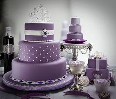 purple wedding cakes pictures pictures Cute Ideas, Purple Wedding Cakes unique  Wedding Cakes