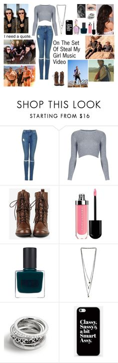 """""""Set Of Steal My Girl with One Direction"""" by blueknight ❤ liked on Polyvore featuring Topshop, Seychelles, RGB, Miss Selfridge, Coach, Casetify and blueknightsmostlikedsets"""