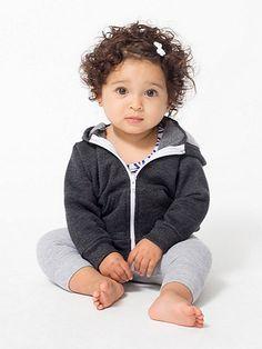 Infant Flex Fleece Zip Hoodie | American Apparel