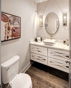 Floating Vanity, Home Decor, Interior Design, Model Home, New Home Ideas,  Craftsman Finish. Bickimer Homes