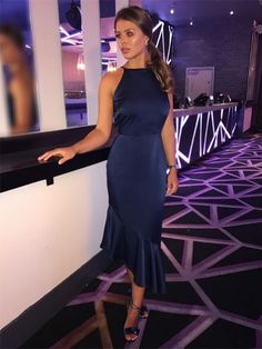 Chloe Lewis Style, Navy Dress, Dress Up, Lavish Alice Dress, Semi Formal Outfits, Night Out, Celebrity Style, Celebs, Glamour