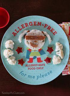 Super Girl Superhero Lunch! Gluten Free & Allergy Friendly #MySafeFamily