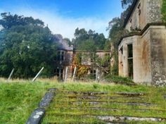 Abandoned Estate Home in the Scottish Highlands