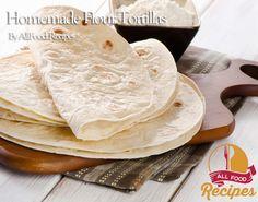 Homemade Flour Tortillas Recipe on Yummly. @yummly #recipe