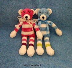 Häkelanleitung für Teddybär