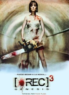 [Rec] 3  - Poster for the threequel to 2007's awesome horror film [Rec].