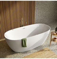 Strømberg Genova frittstående badekar Genoa, Pentagon, Lucca, Bathtub, Bathroom, Bestfriends, Design, Anchor, Modern