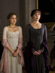 Charity Wakefield as Marianne Dashwood and Hattie Morahan as Elinor Dashwood | Sense & Sensibility (2008)