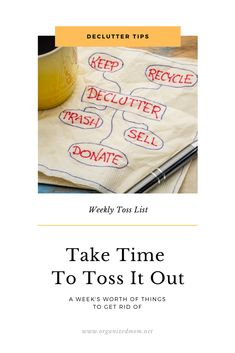 Take Time To Toss It Out Organized Mom, Staying Organized, Old Sheets, Makeup Drawer, Getting Rid Of Clutter, Makeup Items, Oil Change, Car Wash, Tossed