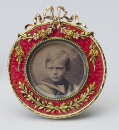 Frame with photograph of Prince Henry of Wales (later Duke of Gloucester)   Royal Collection Trust
