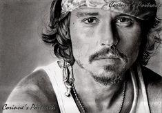 Johnny DEPP by Sadness40.deviantart.com on @DeviantArt
