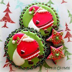 Chubby Santa Cookies by mint_lemonade, via Flickr