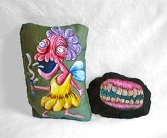 Tooth Fairy Toy  Monster Doll  Sack Toy  by AlyshellsCraftShack, $40.00