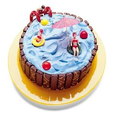 Pool Party Cake - Fantastic :D