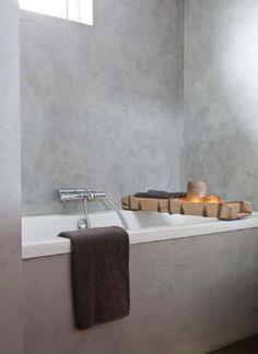 Oude brick mould voor op het bad | AURA PEEPERKORN INTERIEUR | www.aurapeeperkorn.nl