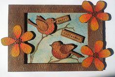 Barnsley Crafter: Robins Flowers