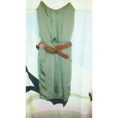 I just discovered this while shopping on Poshmark: Green mini dress. Check it out!  Size: M