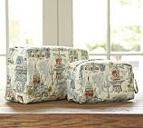 Paris Cosmetic Bags, Set of 2 - Pottery Barn
