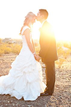 2010s  Pickup skirts first became popular in the mid-2000s. Modern dresses feature asymmetrical, looser pickups.   Pictured: Amanda Weber and Julian Ruedas, married on February 25, 2012