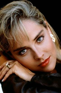 Sharon Stone pictures and photos Sharon Stone Age, Sharon Stone Young, Sharon Stone Photos, Stone Pictures, Actrices Hollywood, Timeless Beauty, Woman Face, Beautiful Actresses, Pretty Face
