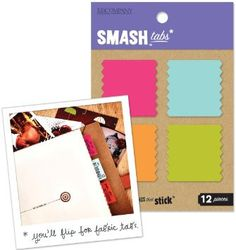 Smash Fabric Page Tabs 12 pieces