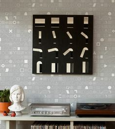 We offer a variety of graphic wallpaper and geometric wallpaper designs and patterns. Find the right modern graphic design wallpaper for your home. Geometric Wallpaper Design, Modern Wallpaper Designs, Graphic Wallpaper, Textured Wallpaper, Designer Wallpaper, Cover Wallpaper, Wall Wallpaper, Pattern Wallpaper, Home Design Decor