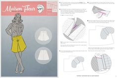 Maison Fleur sewing Patterns 6104 Instructions Example from www.maisonfleurpatterns.com