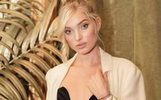Download wallpapers Elsa Hosk, beauty, top-models, portrait, Victorias Secret Angel, blonde